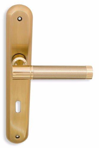 Πετουγιες Πορτας Με Πλακα Χρωμα: Χρυσο Ματ Κωδ 3004