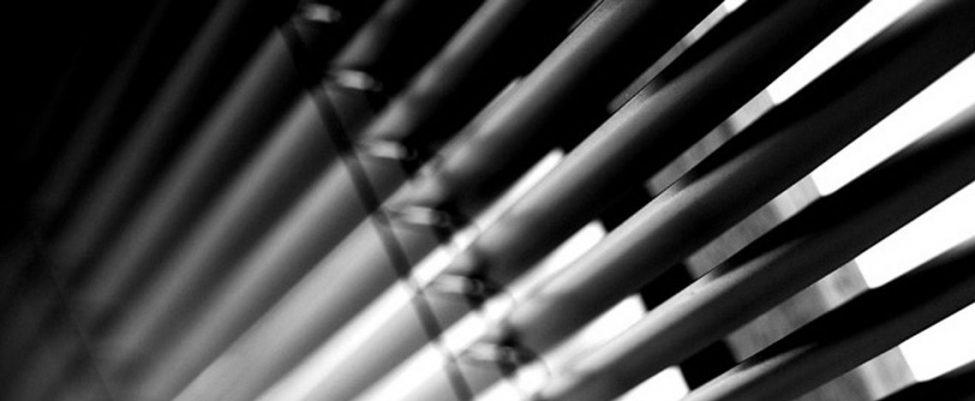 Οριζοντιες Περσιδες Αλουμινιου Σε Τρεις Διαστασεις Πλατους Φυλλου 16mm,25mm,35mm